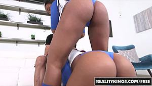 Around Brown - Jaime Fetti Jenna J Foxx Tyler steely - Tag Teamed - RealityKings
